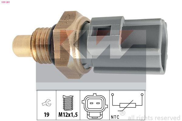 Senzor teploty paliva 530 281 s vynikajúcim pomerom KW medzi cenou a kvalitou