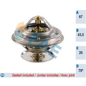 5305479 FAE Öffnungstemperatur: 79°C, mit Dichtungen, ohne Gehäuse Thermostat, Kühlmittel 5305479 günstig kaufen