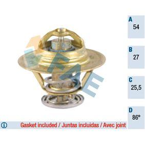 5330386 FAE Öffnungstemperatur: 86°C, mit Dichtungen Thermostat, Kühlmittel 5330386 günstig kaufen