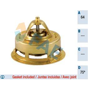 5346275 FAE Öffnungstemperatur: 75°C, mit Dichtungen Thermostat, Kühlmittel 5346275 günstig kaufen