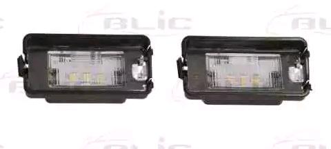 Luce della targa 5402-046-21-910 BLIC — Solo ricambi nuovi
