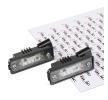 Nummernschildbeleuchtung 5402-053-22-910 Golf V Schrägheck (1K1) 3.2 R32 4motion 250 PS Premium Autoteile-Angebot