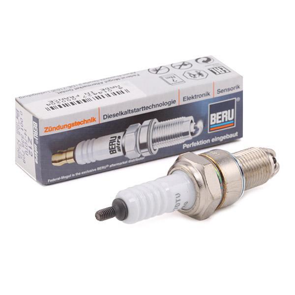147DTU BERU ULTRA E.A.: 0,8mm, Gewindemaß: M14x1,25 Zündkerze Z12 günstig kaufen