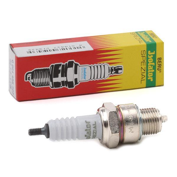Achetez Bougies d'allumage BERU M14-175 (Écart. électr.: 0,6mm, Filetage: M14x1,25) à un rapport qualité-prix exceptionnel