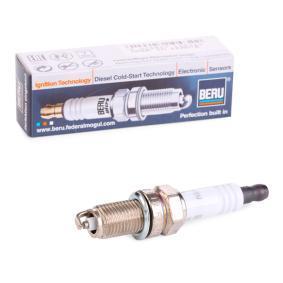 Αγοράστε 12FR7DU BERU ULTRA Απόσταση ηλεκτροδίου: 0,9mm, Διαστάσεις σπειρώματος: M12x1,25 Μπουζί Z234 Σε χαμηλή τιμή