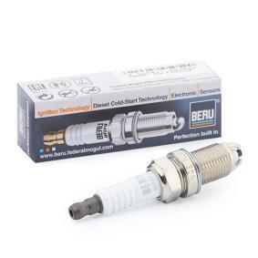 Купете BERU ULTRA разст. м-ду електродите: 1мм, мярка на резбата: M14x1,25 Запалителна свещ Z74 евтино