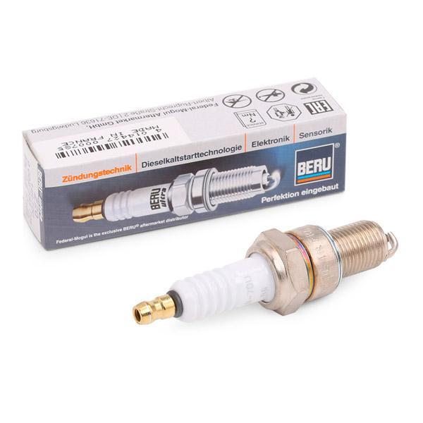 14R7DU BERU ULTRA Electrode Gap: 0,8mm, Thread Size: M14x1,25 Spark Plug Z20 cheap