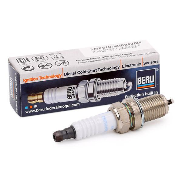Origine Système d'allumage et bougies de préchauffage BERU Z206 (Écart. électr.: 0,7mm, Filetage: M14x1,25)