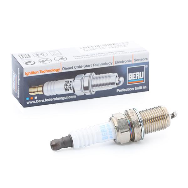 14FR6DPU02S BERU ULTRA 14 FR-6 DPU02S, M14x1,25, Deschidere: 16 Distanta dintre electrozi: 0,7mm Bujii Z340 cumpără costuri reduse
