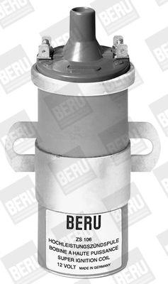 Pieces d'origine: Bobine d'allumage BERU ZS106 (Nombres de pôles: 2pôle, Nombre de connexions: 1) - Achetez tout de suite!
