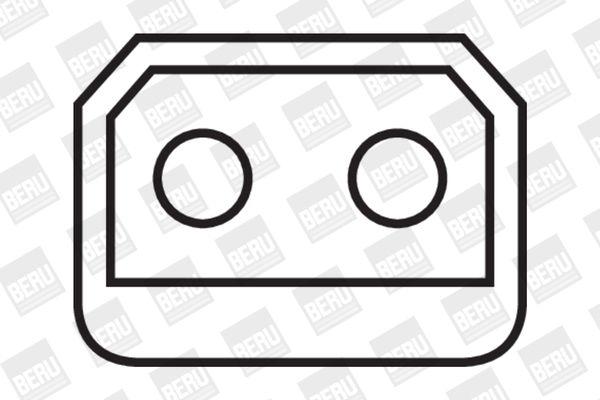 Moto BERU Sawtooth Aantal aansluitingen: 1 Bobine ZS224 koop goedkoop