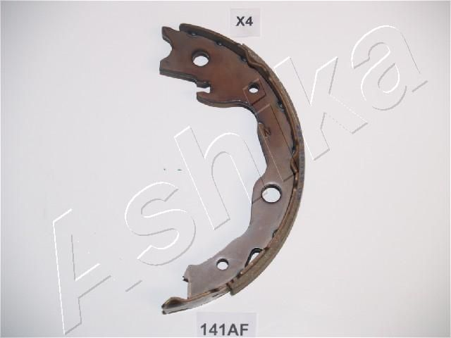 NISSAN QASHQAI 2014 Handbremse - Original ASHIKA 55-01-141 Ø: 170mm, Breite: 32mm, Ø: 170mm