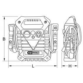 5501720Batterie, appareil d'aide au démarrage KS TOOLS 550.1720 - Enorme sélection — fortement réduit