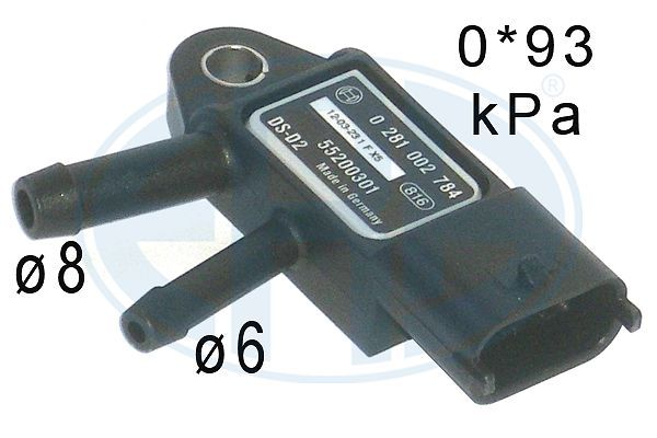Original RENAULT Differenzdrucksensor 550755