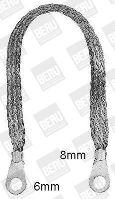 nouveaux Faisceau attelage MB260-68 BERU