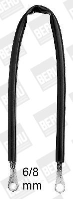 nouveaux Faisceau éléctrique d'attelage MB360-68isoliert BERU