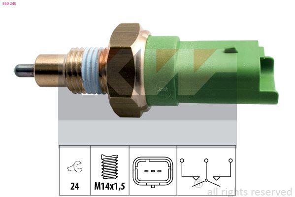 EPS1860245 KW Made in Italy - OE Equivalent SW: 24 Schalter, Rückfahrleuchte 560 245 günstig kaufen