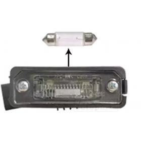 5839920 VAN WEZEL vänster bak, till höger bak, med glödlampa, med lamphållare Belysning, skyltbelysning 5839920 köp lågt pris