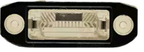 Luci targa bianche 5923920 VAN WEZEL — Solo ricambi nuovi