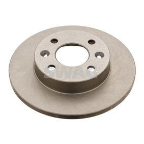 60 90 9071 SWAG Vorderachse, Voll, beschichtet Ø: 238,0mm, Bremsscheibendicke: 12mm Bremsscheibe 60 90 9071 günstig kaufen