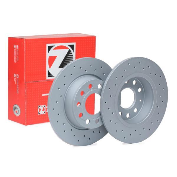 Achetez Disques de frein ZIMMERMANN 600.3241.52 (Ø: 272mm, Jante: 5Trou, Épaisseur du disque de frein: 10mm) à un rapport qualité-prix exceptionnel