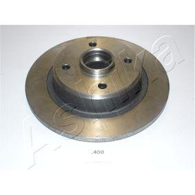 Disco de travão 61-04-400 ASHIKA Pagamento seguro — apenas peças novas