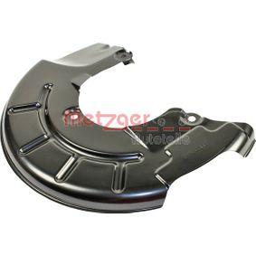 buy METZGER Splash Panel, brake disc 6115060 at any time
