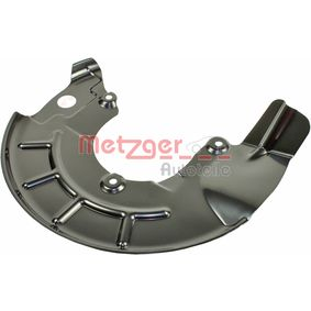 compre METZGER Chapa deflectora, disco de travão 6115060 a qualquer hora