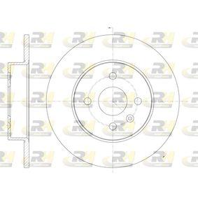 Disque de frein 6789.00 ROADHOUSE Paiement sécurisé — seulement des pièces neuves
