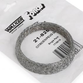 acheter WALKER Kit d'assemblage, silencieux 82563 à tout moment