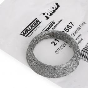 WALKER Montagesatz, Schalldämpfer 82567 rund um die Uhr online kaufen