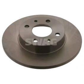 спирачен диск SWAG 70 91 0619 купете и заменете