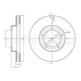 Disco de travão 800-1712C CIFAM Pagamento seguro — apenas peças novas