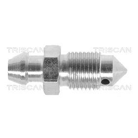 Bestil 8105 3669 TRISCAN Udluftningsskrue / -ventil, bremsekaliber nu