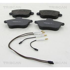 kit de plaquettes de frein frein disque avec num ro 425295 oem pour renault peugeot citro n. Black Bedroom Furniture Sets. Home Design Ideas