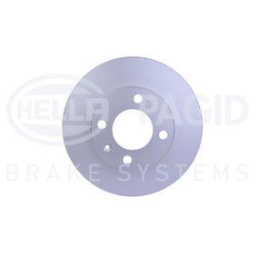 Disque de frein 8DD 355 100-131 HELLA Paiement sécurisé — seulement des pièces neuves