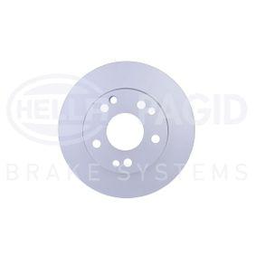 Bremsscheibe von HELLA - Artikelnummer: 8DD 355 100-741