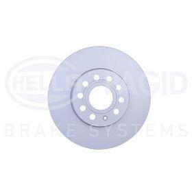 Bremsscheibe von HELLA - Artikelnummer: 8DD 355 109-581