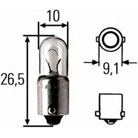 koop HELLA Gloeilamp, leeslamp 8GP 008 285-001 op elk moment