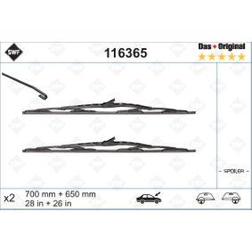Limpiaparabrisas 116365 SWF Pago seguro — Solo piezas de recambio nuevas