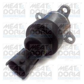MEAT & DORIA Zawór regulujący, ilożć paliwa (system Common Rail) 9379 kupować online całodobowo