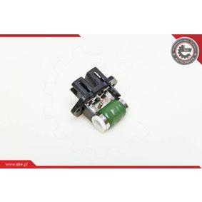 ESEN SKV ellenállás, belső tér szellőzés 95SKV011 - vásároljon bármikor
