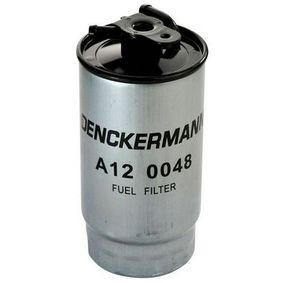 palivovy filtr A120048 s vynikajícím poměrem mezi cenou a DENCKERMANN kvalitou