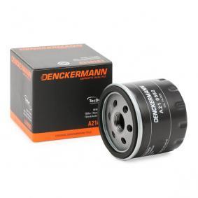 Filtro olio A210582 con un ottimo rapporto DENCKERMANN qualità/prezzo