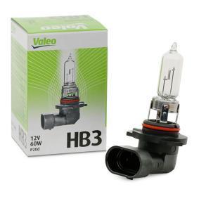 Glödlampa, fjärrstrålkastare 032013 som är helt VALEO otroligt kostnadseffektivt