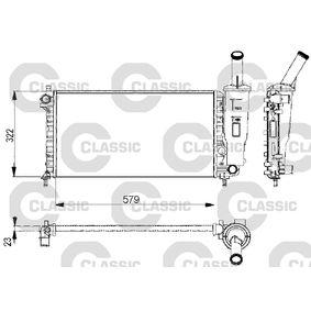 Radiateur, refroidissement du moteur 232578 VALEO Paiement sécurisé — seulement des pièces neuves