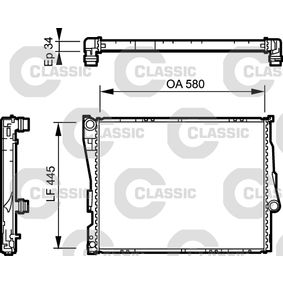 Radiateur, refroidissement du moteur 234276 VALEO Paiement sécurisé — seulement des pièces neuves