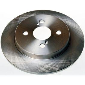 Disque de frein B130272 DENCKERMANN Paiement sécurisé — seulement des pièces neuves