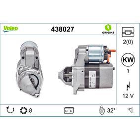 Buy VALEO Starter 438027