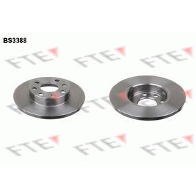 Disque de frein BS3388 FTE Paiement sécurisé — seulement des pièces neuves